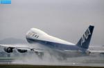 ケイゴさんが、伊丹空港で撮影した全日空 747SR-81の航空フォト(写真)