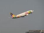 FY1030さんが、羽田空港で撮影したスカイネットアジア航空 737-4M0の航空フォト(写真)