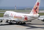 たぁさんが、那覇空港で撮影したJALウェイズ 747-346の航空フォト(写真)