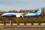 Piggy7119さんが、ボーイングフィールドで撮影したボーイング 787-9の航空フォト(写真)