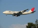 camelliaさんが、成田国際空港で撮影した日本航空 747-246F/SCDの航空フォト(写真)