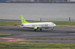 AKさんが、羽田空港で撮影したソラシド エア 737-4Y0の航空フォト(写真)