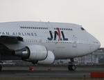 Boeing9さんが、福岡空港で撮影した日本航空 747-446Dの航空フォト(写真)