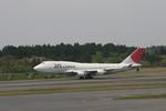 meijeanさんが、成田国際空港で撮影した日本航空 747-446(BCF)の航空フォト(写真)