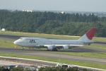 meijeanさんが、成田国際空港で撮影した日本航空 747-446の航空フォト(写真)
