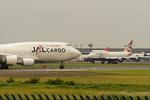 うまやどのおいるさんが、成田国際空港で撮影した日本航空 747-446(BCF)の航空フォト(写真)