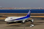 こだしさんが、羽田空港で撮影した全日空 747-481(D)の航空フォト(写真)
