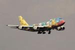 マサさんが、羽田空港で撮影した全日空 747-481の航空フォト(写真)