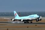青春の1ページさんが、中部国際空港で撮影した大韓航空 747-4B5の航空フォト(写真)