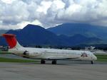 えっちゃんさんが、山形空港で撮影した日本航空 MD-81 (DC-9-81)の航空フォト(写真)
