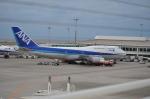 つかささんが、那覇空港で撮影した全日空 747-481(D)の航空フォト(写真)