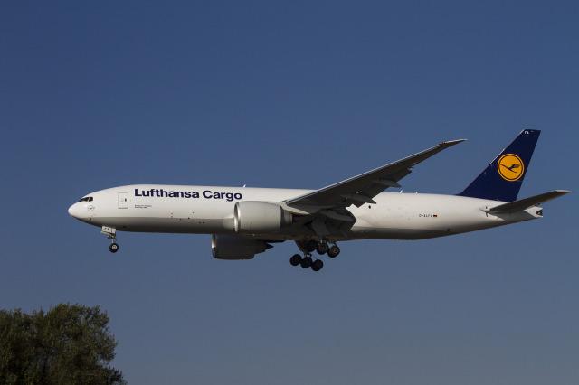 ルフトハンザ・カーゴ Boeing 777-200 D-ALFA ロサンゼルス国際空港 航空フォ