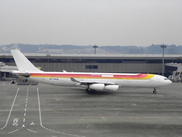 フィリピン航空 Airbus A340-300 RP-C3438 成田国際空港  航空フォト | by White Pelicanさん