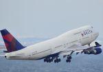 tomo@Germanyさんが、中部国際空港で撮影したデルタ航空 747-451の航空フォト(写真)