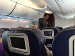 MH721の搭乗レビュー写真