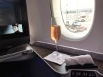 QR057の搭乗レビュー写真