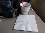 KE1211の搭乗レビュー写真