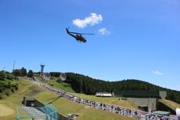 イベント画像 1枚目:分屯基地祭での展示飛行