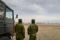 イベント画像:習志野演習場 第1空挺団 降下訓練始め 2020