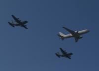 イベント画像 6枚目:2019年3月のオープンベース、オープニング KC-767とC-130H