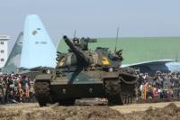 イベント画像 11枚目:2019年秋のオープンベースにも登場する74式戦車