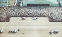 イベント画像 2枚目:2018年の航空祭、エプロン付近