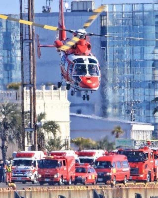 イベント画像 1枚目:名古屋市消防出初式での消防ヘリ