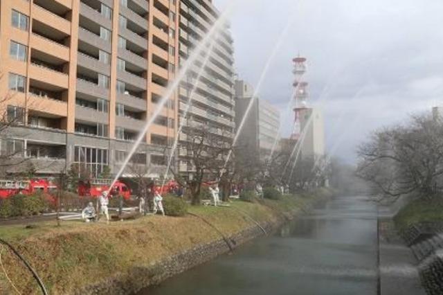 イベント画像 1枚目:富山市消防出初式