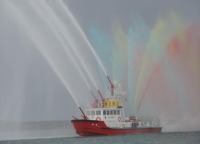 イベント画像 3枚目:富山市消防海上出初式