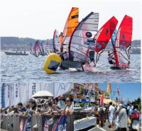 イベント画像:ANAウインドサーフィンワールドカップ横須賀・三浦大会 2020