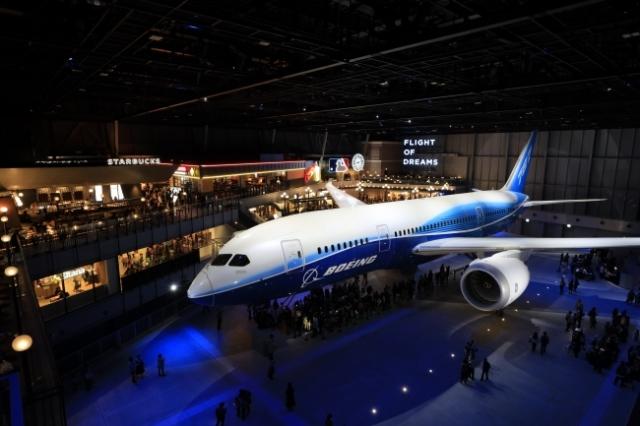 イベント画像 1枚目:FLIGHT OF DREAMS 787初号機「N787BA」