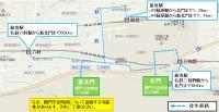 イベント画像 5枚目:最寄駅と新北門、北門へのアクセスと開門時間