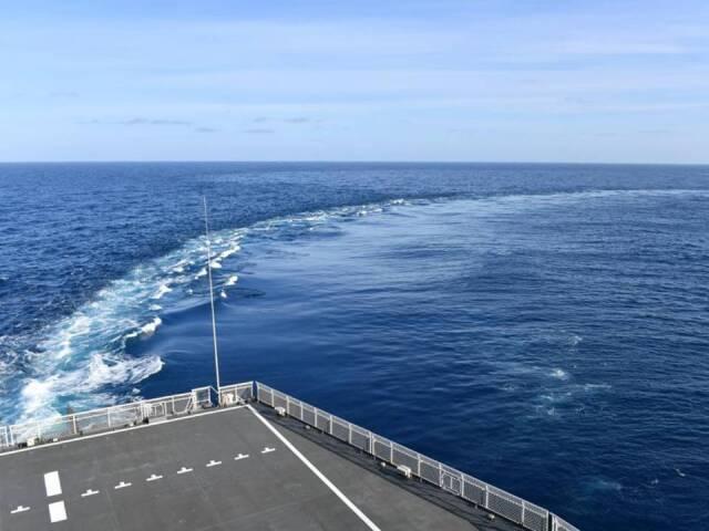イベント画像 1枚目:砕氷艦「しらせ」甲板