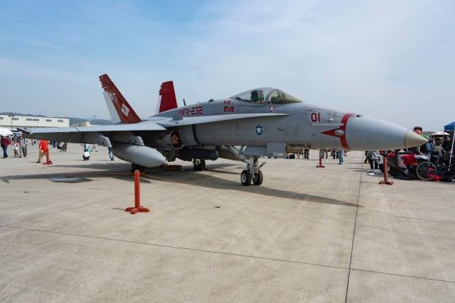 イベント画像 1枚目:F/A-18Cホーネット、展示機イメージ