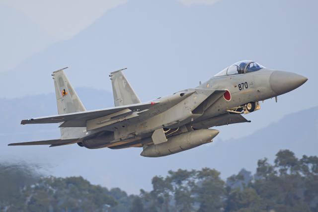 イベント画像 1枚目:2019年12月15日、新田原基地で撮影されたF-15J (norimotoさん撮影)