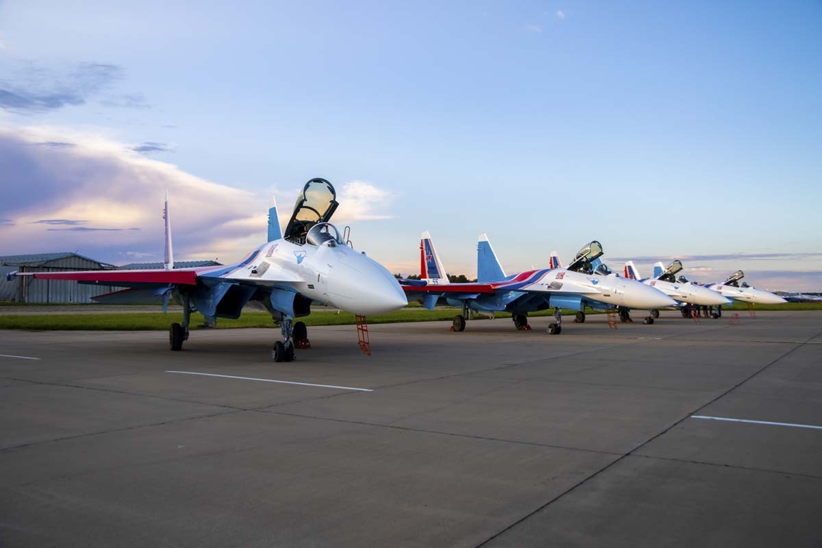 イベント画像 1枚目:ロシアン・ナイツ Su-35S