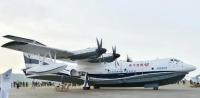 イベント画像 2枚目:これまでは地上展示のみのAG600水陸両用機が初めてエアショーで飛行