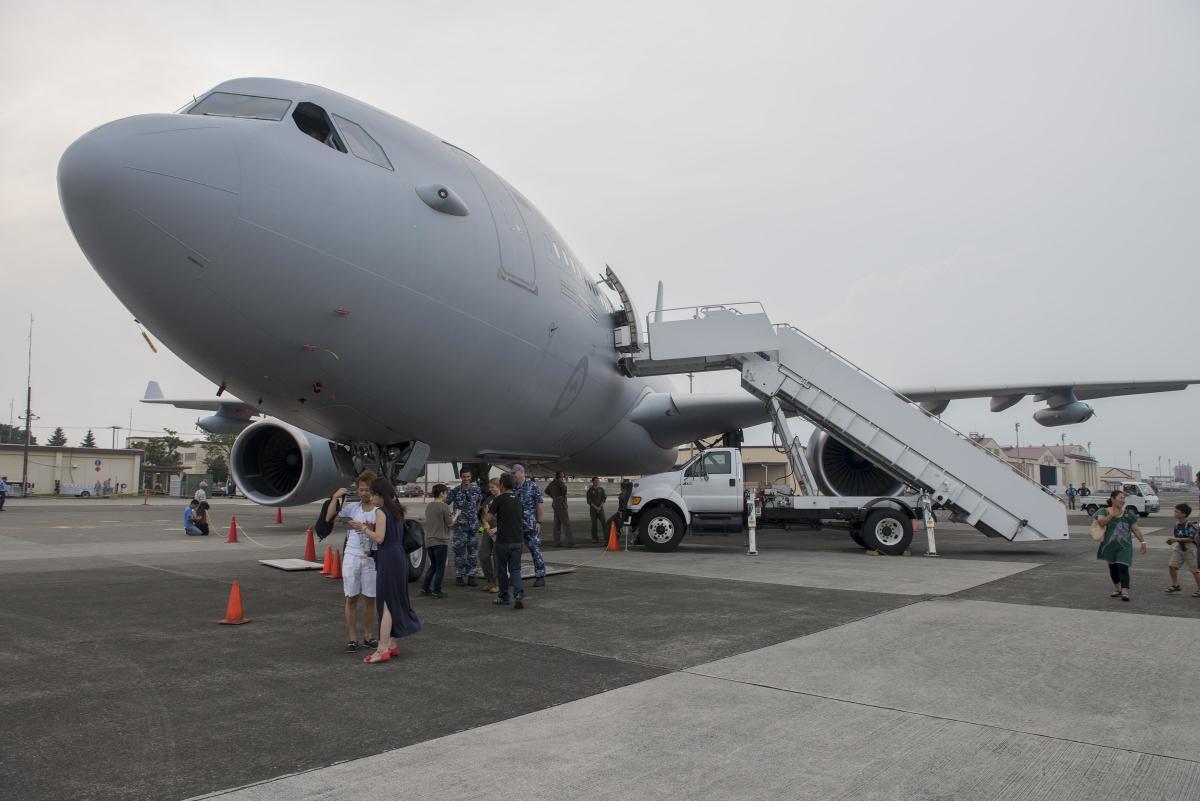 ニュース画像 1枚目:オーストラリア空軍KC-30Bも飛来