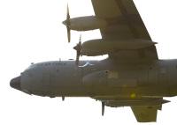 ニュース画像 5枚目:C-130も飛行