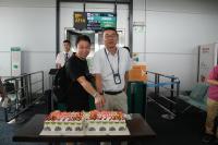 ニュース画像 1枚目:広州/ダナン線の就航記念のケーキ