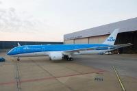 ニュース画像:KLMオランダ航空、787-9の8機目を受領 愛称は「ラベンダー」