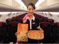 ニュース画像:ジェイ・エア、伊丹/長崎線の機内で「長崎ちゃんぽん煎餅」を提供