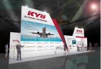 ニュース画像:KYB、国際航空宇宙展に出展 航空機用アクチュエータ各種などを紹介