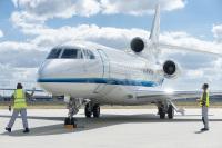 ニュース画像:ダッソー、ファルコン8X初号機を納入 近く12カ国の顧客に引き渡し