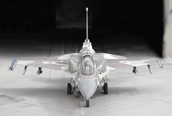 イスラエル空軍のF-16I、10月5日...