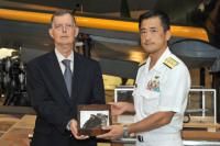 ニュース画像:零戦A6M5c、戦艦ミズーリ記念館が鹿屋航空基地史料館に機体一部を寄贈