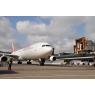 ニュース画像 3枚目:久しぶりに成田空港に到着するイベリア航空