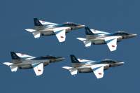 ニュース画像:奈良基地60周年記念行事、岐阜基地が支援 ブルーやYS-11、F-15も
