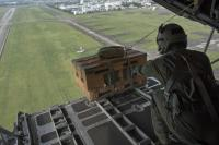 ニュース画像:横田基地、日米共同統合演習でC-130、C-17、UH-1などで訓練