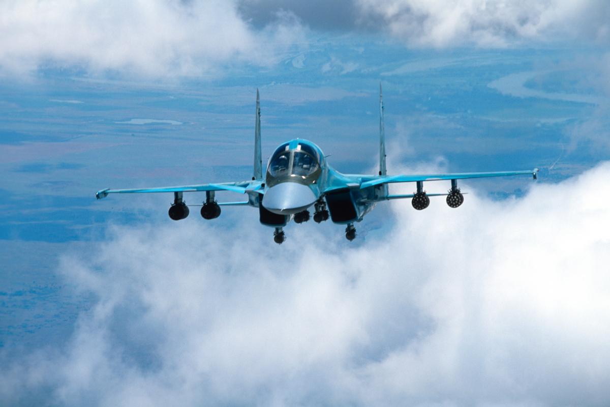 ニュース画像 1枚目:Su-34戦闘爆撃機
